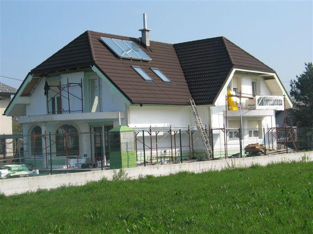 Izdelava toplotne izolacije fasade iz stiroporja (ekspandiran polistiren) - Rofix