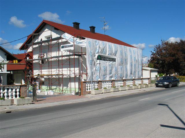 Izdelava toplotne izolacije fasade iz stiroporja (ekspandiran polistiren) Rofix