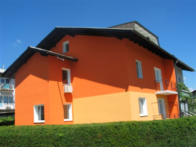 Fasada objekta z Rofix silikatnim zaključnim ometom