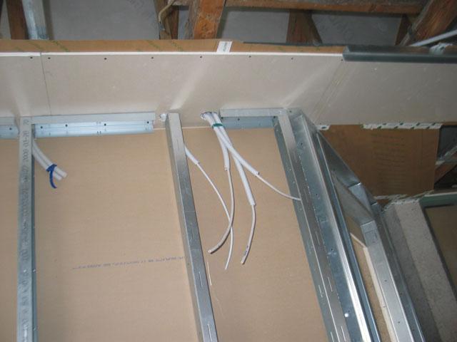 Pritrjevanje mavčno-kartonskih plošč Knauf