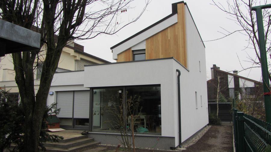 Končana fasada objekta – Weber