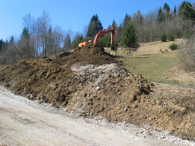 Izkop gradbene jame
