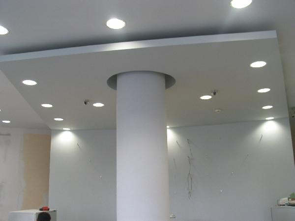 Spuščen strop